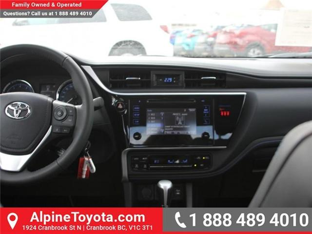 2018 Toyota Corolla SE (Stk: C076086) in Cranbrook - Image 10 of 18