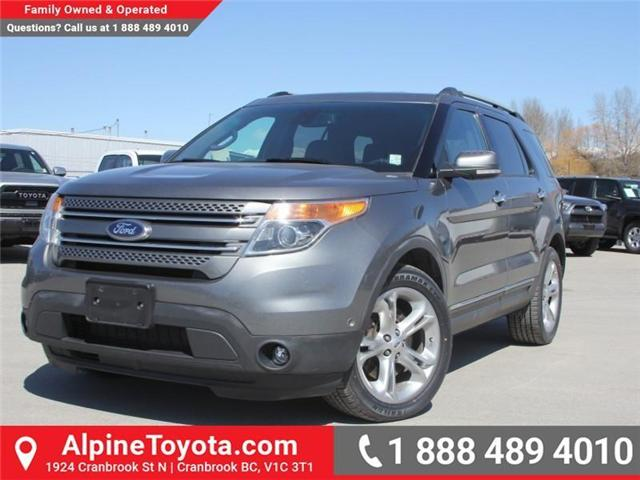 2014 Ford Explorer Limited (Stk: S527345A) in Cranbrook - Image 1 of 19