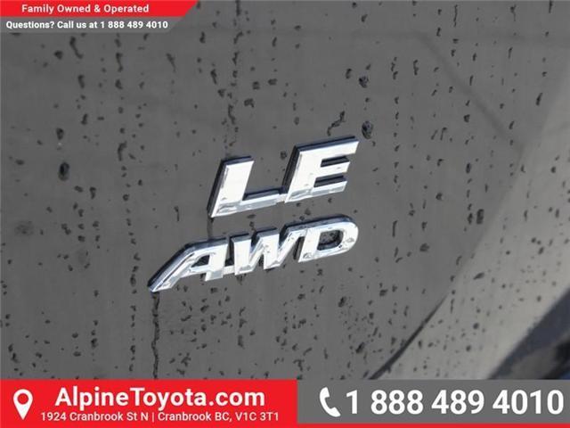 2018 Toyota RAV4  (Stk: W774316) in Cranbrook - Image 17 of 18