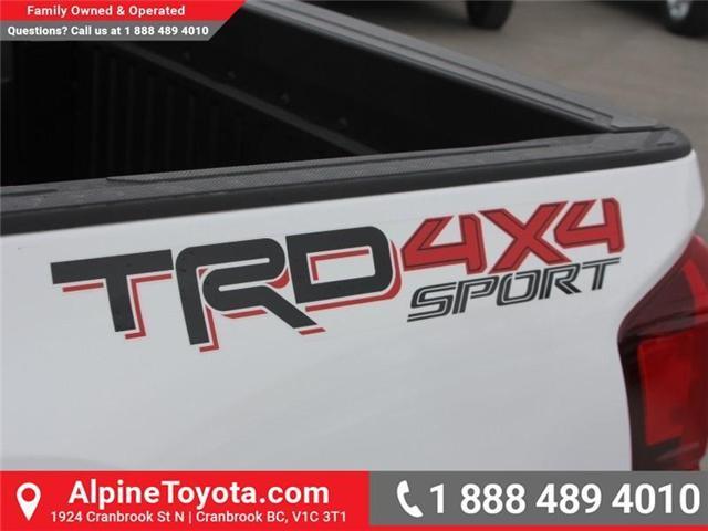 2018 Toyota Tacoma SR5 (Stk: X033494) in Cranbrook - Image 16 of 16