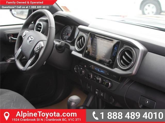 2018 Toyota Tacoma SR5 (Stk: X033796) in Cranbrook - Image 11 of 17