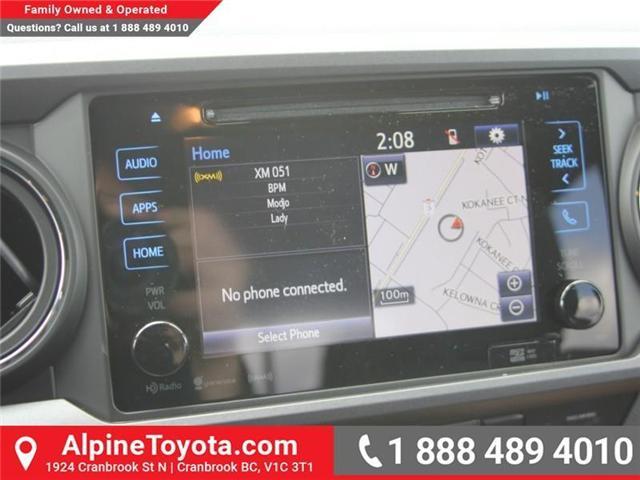 2018 Toyota Tacoma SR5 (Stk: X033796) in Cranbrook - Image 13 of 17