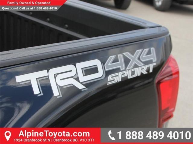 2018 Toyota Tacoma SR5 (Stk: X033796) in Cranbrook - Image 16 of 17