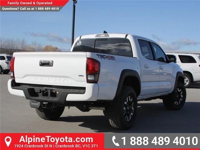 2018 Toyota Tacoma TRD Off Road (Stk: X139104) in Cranbrook - Image 5 of 18