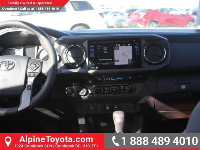 2018 Toyota Tacoma TRD Off Road (Stk: X139104) in Cranbrook - Image 10 of 18