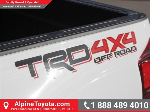 2018 Toyota Tacoma TRD Off Road (Stk: X139104) in Cranbrook - Image 17 of 18