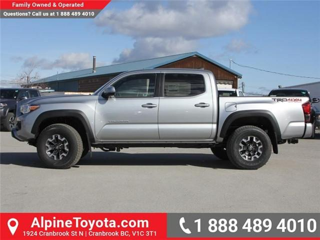 2018 Toyota Tacoma TRD Off Road (Stk: X140040) in Cranbrook - Image 2 of 18