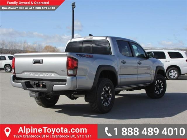2018 Toyota Tacoma TRD Off Road (Stk: X140040) in Cranbrook - Image 5 of 18