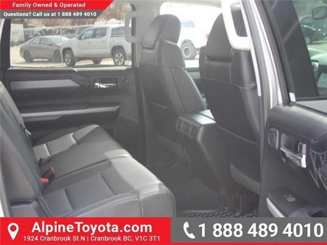 2017 Toyota Tundra  (Stk: X722358A) in Cranbrook - Image 12 of 19