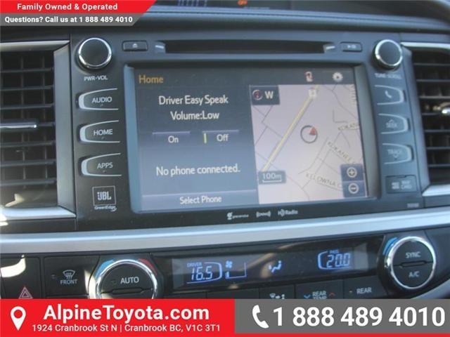 2016 Toyota Highlander Limited (Stk: S836179A) in Cranbrook - Image 12 of 19