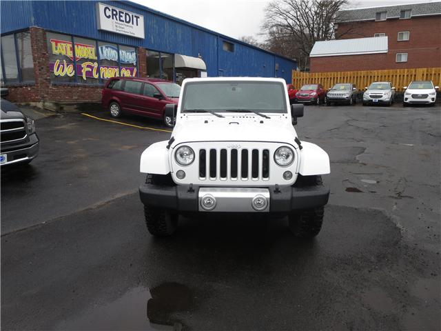 2017 Jeep Wrangler Unlimited Sahara (Stk: 694361) in Dartmouth - Image 2 of 22
