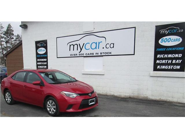 2014 Toyota Corolla LE (Stk: 180400) in North Bay - Image 2 of 13