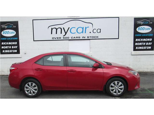 2014 Toyota Corolla LE (Stk: 180400) in North Bay - Image 1 of 13