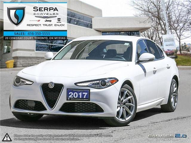 2017 Alfa Romeo Giulia Base (Stk: P9033) in Toronto - Image 1 of 27