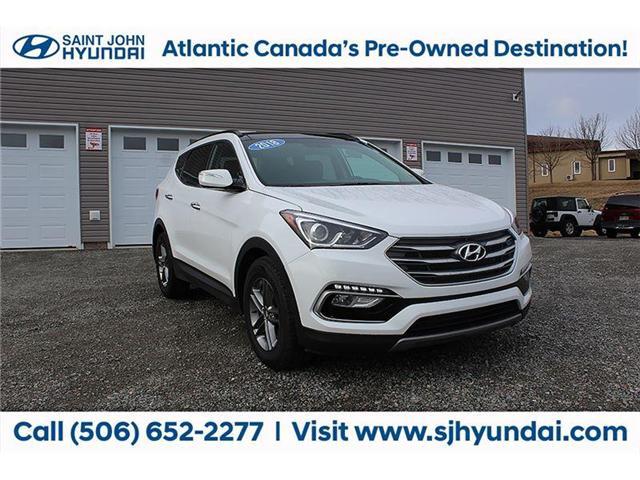 2018 Hyundai Santa Fe Sport  (Stk: U1600) in Saint John - Image 1 of 22