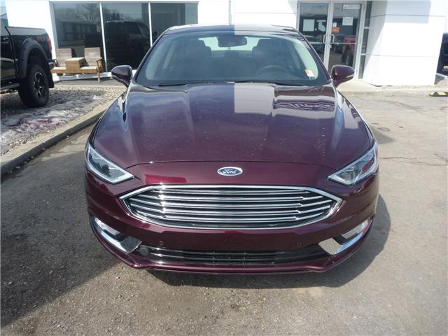 2017 Ford Fusion Titanium (Stk: 7156) in Wilkie - Image 2 of 20