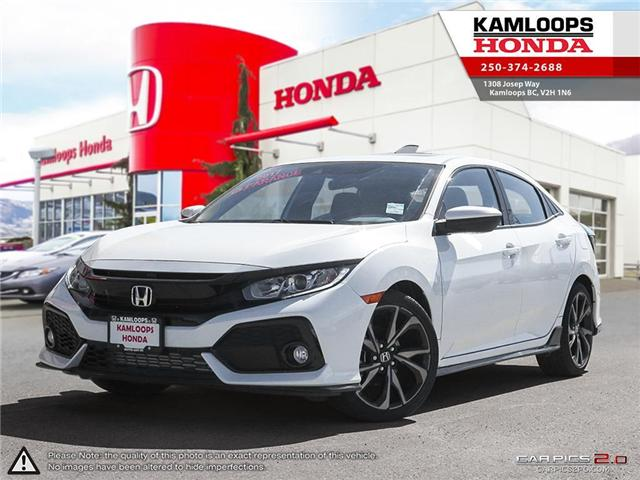 2017 Honda Civic Sport (Stk: N13515) in Kamloops - Image 1 of 25
