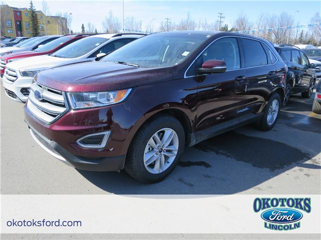 2018 Ford Edge SEL (Stk: J-1284) in Okotoks - Image 1 of 6