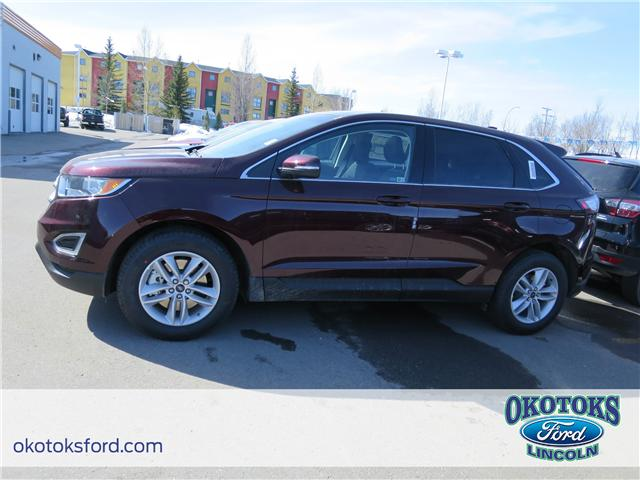 2018 Ford Edge SEL (Stk: J-1284) in Okotoks - Image 2 of 6