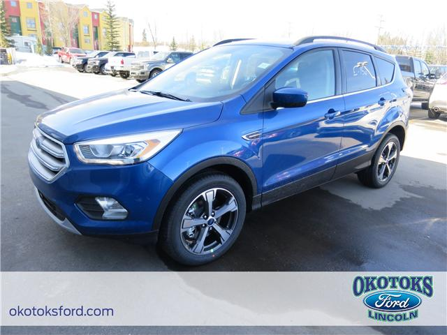 2018 Ford Escape SEL (Stk: J-1713) in Okotoks - Image 1 of 5