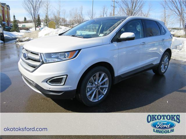 2018 Ford Edge Titanium (Stk: J-1793) in Okotoks - Image 1 of 5