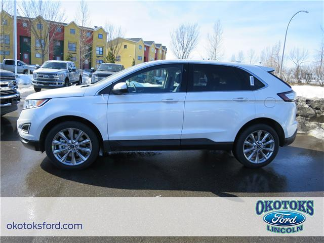 2018 Ford Edge Titanium (Stk: J-1793) in Okotoks - Image 2 of 5