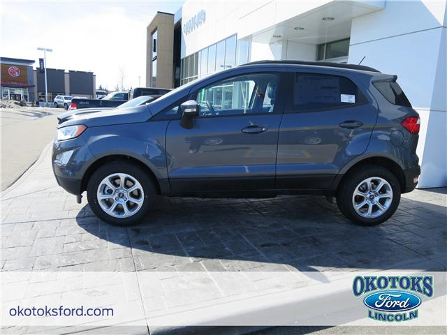 2018 Ford EcoSport SE (Stk: JK-223) in Okotoks - Image 2 of 5