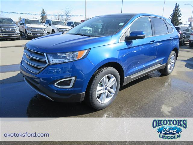 2018 Ford Edge SEL (Stk: JK-277) in Okotoks - Image 1 of 5