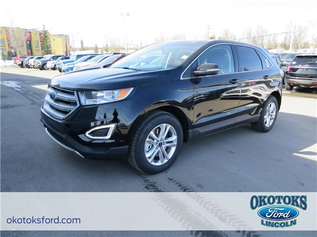 2018 Ford Edge SEL (Stk: JK-278) in Okotoks - Image 1 of 5