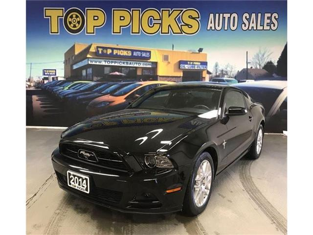 2014 Ford Mustang V6 (Stk: 5329655) in NORTH BAY - Image 1 of 16