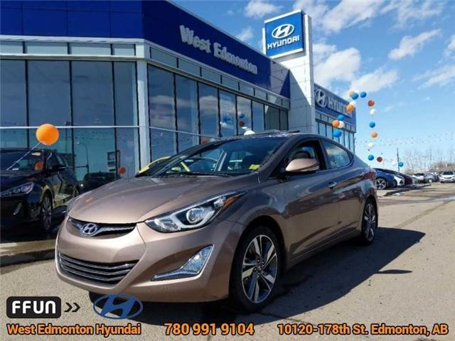 2016 Hyundai Elantra Limited (Stk: 83366A) in Edmonton - Image 1 of 24