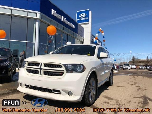 2012 Dodge Durango R/T (Stk: E3091A) in Edmonton - Image 1 of 23