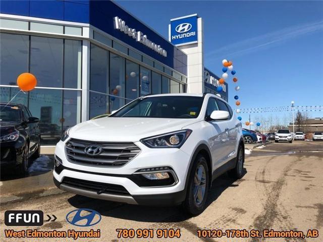 2018 Hyundai Santa Fe Sport  (Stk: E4001) in Edmonton - Image 1 of 22