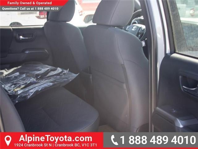 2018 Toyota Tacoma SR5 (Stk: X033862) in Cranbrook - Image 11 of 16