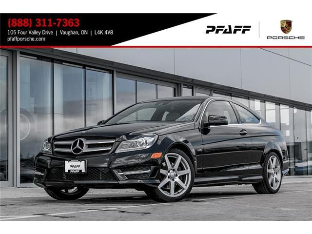 2012 Mercedes-Benz C350 Coupe (Stk: U6932A) in Vaughan - Image 1 of 18
