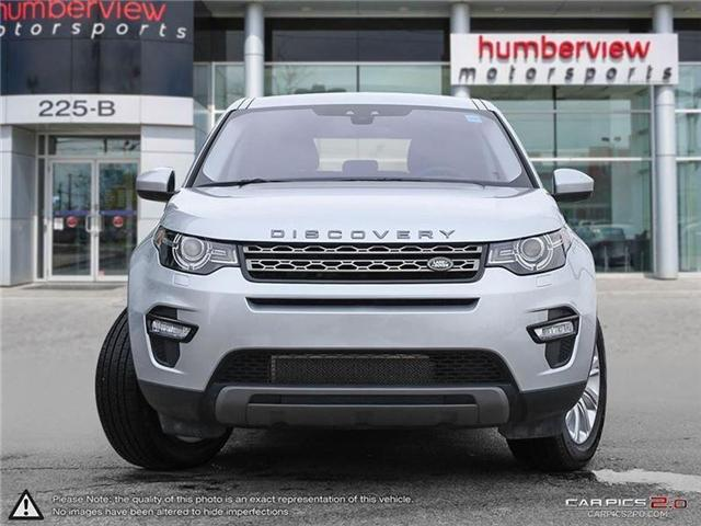2017 Land Rover Discovery Sport SE (Stk: 18HMS047) in Mississauga - Image 2 of 27