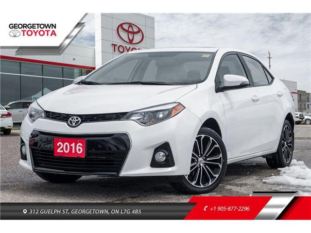 2016 Toyota Corolla S (Stk: 16-00597) in Georgetown - Image 1 of 20