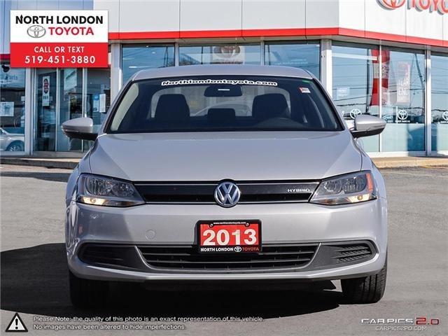 2013 Volkswagen Jetta Turbocharged Hybrid Trendline (Stk: AA218499) in London - Image 2 of 27