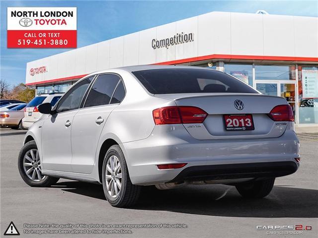 2013 Volkswagen Jetta Turbocharged Hybrid Trendline (Stk: AA218499) in London - Image 4 of 27
