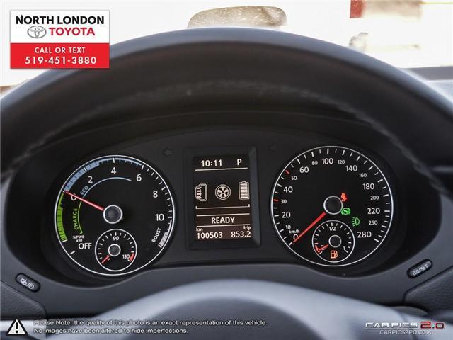 2013 Volkswagen Jetta Turbocharged Hybrid Trendline (Stk: AA218499) in London - Image 7 of 27