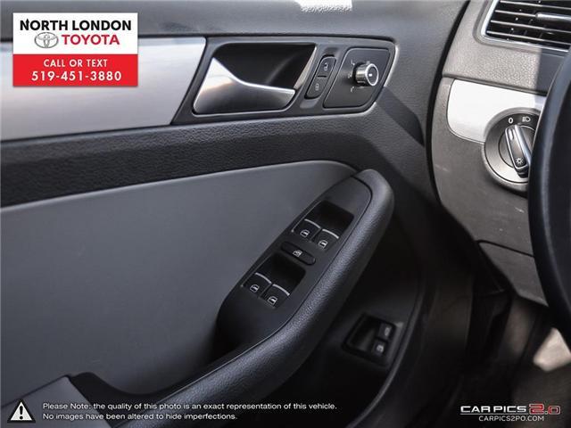 2013 Volkswagen Jetta Turbocharged Hybrid Trendline (Stk: AA218499) in London - Image 9 of 27