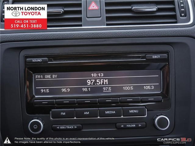 2013 Volkswagen Jetta Turbocharged Hybrid Trendline (Stk: AA218499) in London - Image 14 of 27