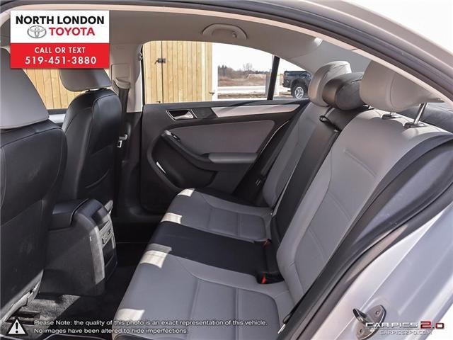 2013 Volkswagen Jetta Turbocharged Hybrid Trendline (Stk: AA218499) in London - Image 19 of 27