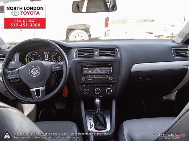 2013 Volkswagen Jetta Turbocharged Hybrid Trendline (Stk: AA218499) in London - Image 20 of 27