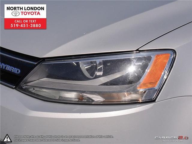 2013 Volkswagen Jetta Turbocharged Hybrid Trendline (Stk: AA218499) in London - Image 24 of 27