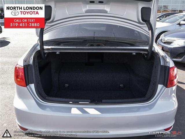2013 Volkswagen Jetta Turbocharged Hybrid Trendline (Stk: AA218499) in London - Image 25 of 27