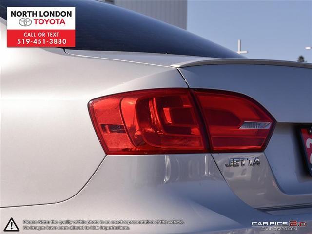 2013 Volkswagen Jetta Turbocharged Hybrid Trendline (Stk: AA218499) in London - Image 26 of 27