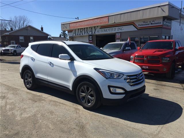 2013 Hyundai Santa Fe Sport 2.0T SE (Stk: 1733) in Garson - Image 1 of 13