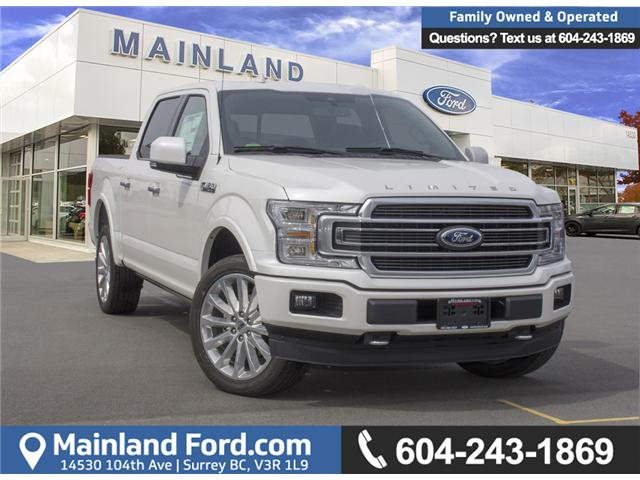 2018 Ford F-150 Limited (Stk: 8F15489) in Surrey - Image 1 of 30