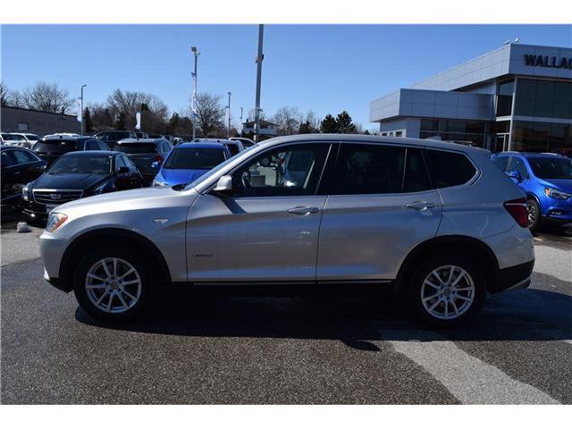 2013 BMW X3 xDrive28i/AWD/SUNRF/LEATHR/PRK ASST/HTD SEATS (Stk: 102738b) in Milton - Image 2 of 23